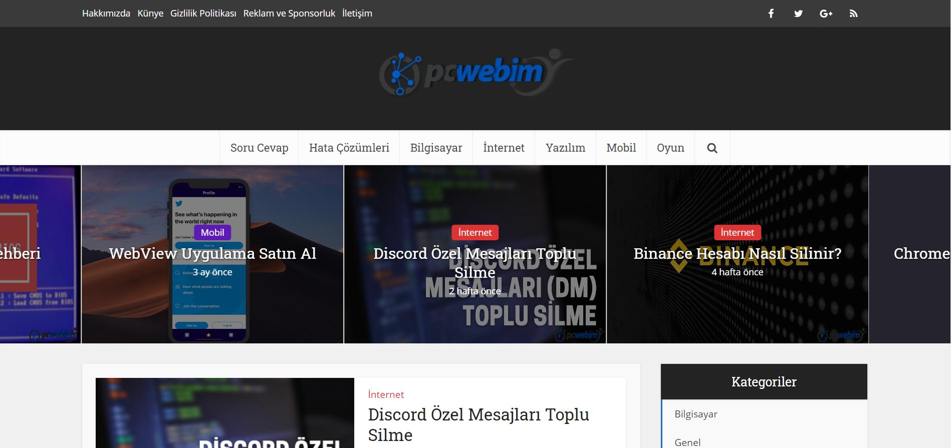Pc Webim